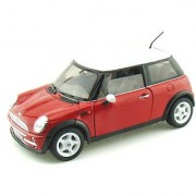 Mini Cooper Red 1:24 Diecast Model Car