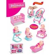 Boneca Mini Miudinhas Casinha Diver Toys 675