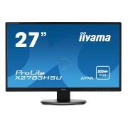 """MONITOR LED IIYAMA 27"""" X2783HSU-B1 FULLHD D-SUB/DVI/HDMI/USB BLACK"""