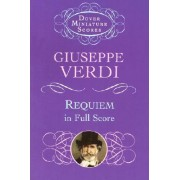 Requiem in Full Score by Giuseppe Verdi