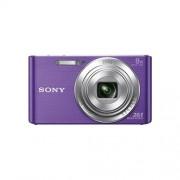 """Fotoaparát SONY DSC-W830V, 20,1Mpx, f/3.3-6.3, 8x zoom, 2.7""""LCD, fialový"""