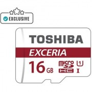 Toshiba Exceria M302 16GB Micro SD Card (With Adapter) 90 MB/s 4K