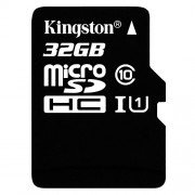 Kingston Digital 32GB microSDHC Class 10 UHS-I 45MB/s Read Card with SD Adapter (SDC10G2/32GB)