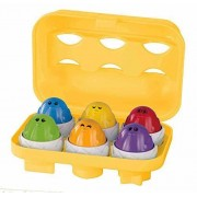 Kidoozie Peek N Peep Eggs - Mentally Stimulating - Employs Tactile Engagement - for ages 12 Months and Up