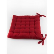 Parmatex Chair Pad Red - Red 38X38CM