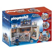 PLAYMOBIL My Police Secret Station Play Box Playset