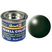 Revell 32363 - Bote de pintura esmalte RAL 6020, verde oscuro (14 ml.) - efecto satinado