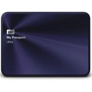 HDD Extern Western Digital My Passport Ultra Metal Edition, 3TB, 2.5 inch, USB 3.0 (Albastru inchis)