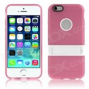 "Enkay protection TPU Retour Case w / Stand pour iPhone 6 PLUS 5.5 ""- Rose"