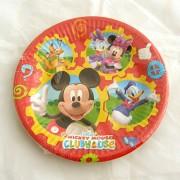 Mickey Mouse Club House parti tányér - 10 darabos