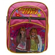 Fairy Girl Pink Color School Backpack with free Pencil Box MAV0147