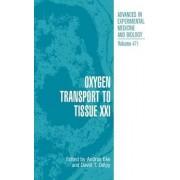 Oxygen Transport to Tissue: v. 21 by Andras Eke