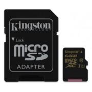 KINGSTON UHS-I MicroSDXC 64GB + Adapter SDCA10/64GB