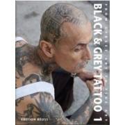 Black & Grey Tattoo by Marisa Kakoulas