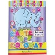 Carte de colorat 3-4 ani colectia Campionii