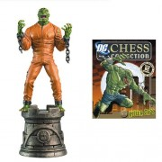DC Chess Collector Figure & Magazine #30 Killer Croc Black Rook