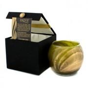 Esque Polished Globe Candle - Olive 4 inch Esque Lumânare cu Vas Rotund Şlefuit - Olive