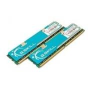 Mémoire G.Skill 4 Go (2 x 2 Go) DDR2 (F2-6400CL4D-4GBPK) - DIMM 240 broches 800 MHz / PC2-6400 - CL4 - 2.0 - 2.1 V - mémoire sans tampon - NON ECC