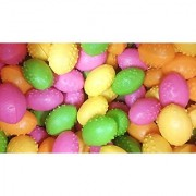 New! Dinosaurs Eggs Each with Mini toy Dinosaur Figure Inside Assorted Colors Value Pack of 24 pc. Packed By MK Trading