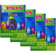 Bulk Buy: Lot of 4 Boxes of PAAS Easter Egg Decorating Kits - Neon