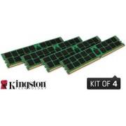 Kingston - KVR21R15D4K4/64 - Kit of 4 - 65536 MB - DIMM - DDR4 - 2133 MHz - 1.2 V - CL15 - ECC Registered - Nou