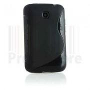 Coque Pour Lg Optimus L3 E400 Gel Etui Silicone Sline Rigide Cover Case Noir
