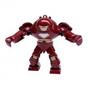 Super Heroes The Avengers Iron Man Hulk Buster Action Figures Minifigures Building Blocks Toys Compatible With Lego Minifigures (Without Original Boxes)
