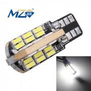 MZ T10 9.6W 48-LED blanco Decode libre de errores Canbus lampara de limpieza de coches