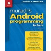 Murachs Android Programming by Joel Murach