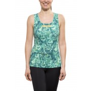 GORE RUNNING WEAR AIR PRINT Singlet Lady turquoise 36 Laufshirts