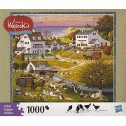 CHARLES WYSOCKIs AMERICANA PUZZLE Riverside Family Reunion 1000 Piece