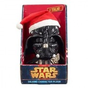 Underground Toys Star Wars Talking Santa Darth Vader 9 Plush