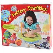 PlayGo Create & Play Kids Pottery Wheel Kit - Children