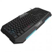 Klávesnica GENIUS GX GAMING Scorpion K20, drôtová, USB, čierna, CZ + SK layout