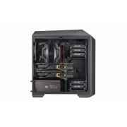 "CARCASA COOLER MASTER. MasterCase Pro 3, window version, mini-tower, mATX, 2* 140mm fan (incluse), I/O panel, black ""MCY-C3P1-KWNN"""