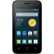 """Alcatel One Touch PIXI 3(3.5) - 3G HSPA+ - 4 GB - 3.5"""" - TFT - GSM - Android Phone volcano black - Smartphone"""