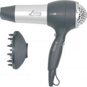 Clatronic HTD 3055 - Secador de pelo, 3 niveles de temperatura, 2 velocidades, difusor, 2000 W