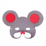 Dark Grey Mouse Childrens Foam Animal Mask