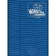 Monster Binder - 9 Pocket Trading Card Album - Holofoil Midnight Blue (Anti-theft Pockets Hold 360+ Yugioh, Pokemon, Magic the Gathering Cards) by Monster Protectors