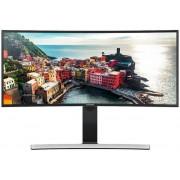"Monitor VA LED Samsung SyncMaster 34"" LS34E790CNS, WQHD (3440 x 1440), HDMI, DisplayPort, 4 ms, Boxe, Ecran Curbat (Negru) + Set curatare Serioux SRXA-CLN150CL, pentru ecrane LCD, 150 ml + Cartela SIM Orange PrePay, 5 euro credit, 8 GB internet 4G"