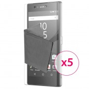 Clubcase Films de protection Sony Xperia Z5 Clubcase® 3H Ultra Clear HD Lot de 5