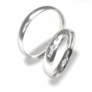 Luxusní Ocelové snubní prsteny 0140200022