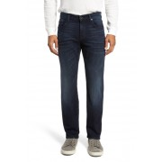 7 For All Mankind Standard - Luxe Performance Straight Leg Jeans DARK CURRE