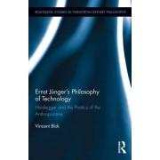 Ernst Junger and Heidegger S Philosophy of Technology