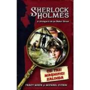 Cei trei magnifici Zalinda - Sherlock Holmes si strengarii de pe Baker Street - Tracy Mack Michael Citrin