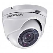Camera dome de exterior TurboHD, IR 20m Hikvision DS-2CE56D1T-IRM 3.6mm + Discount la kit (Hikvision)