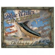 """""""Sign - Blue Water Charters"""""""