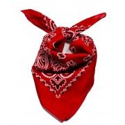 Chusta bandana czerwona.