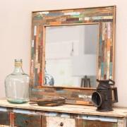 Maisons du monde Specchio in legno H 90 cm BOHÈME