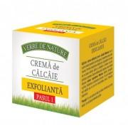 Crema de calcaie exfolianta (pasul 1), 100 ml